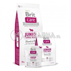 Brit Care Junior Large Breed Lamb Rice