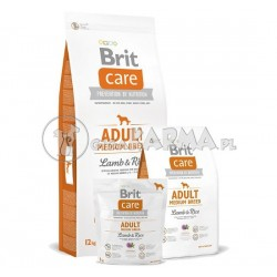 Brit Care Adult Medium Breed Lamb Rice