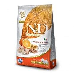 Farmina N&D Low Grain CODFISH&ORANGE Adult mini dog 800g