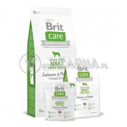 Brit Care Grain free Adult Large Breed Salmon Potato