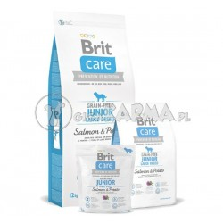 Brit Care Grain free Junior Large Breed Salmon Potato