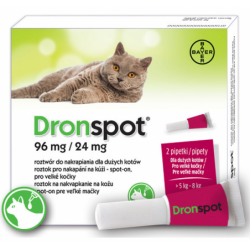 DRONSPOT 1,12ml duży Kot 5...