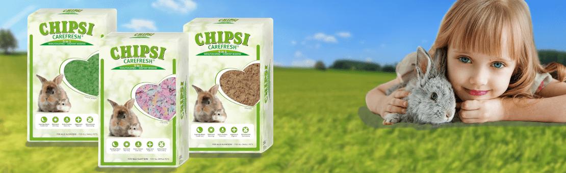 Chipsi producent najwyższej jakości ściółek dla gryzoni i królików
